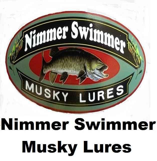 Nimmer Swimmer Muskie Lures