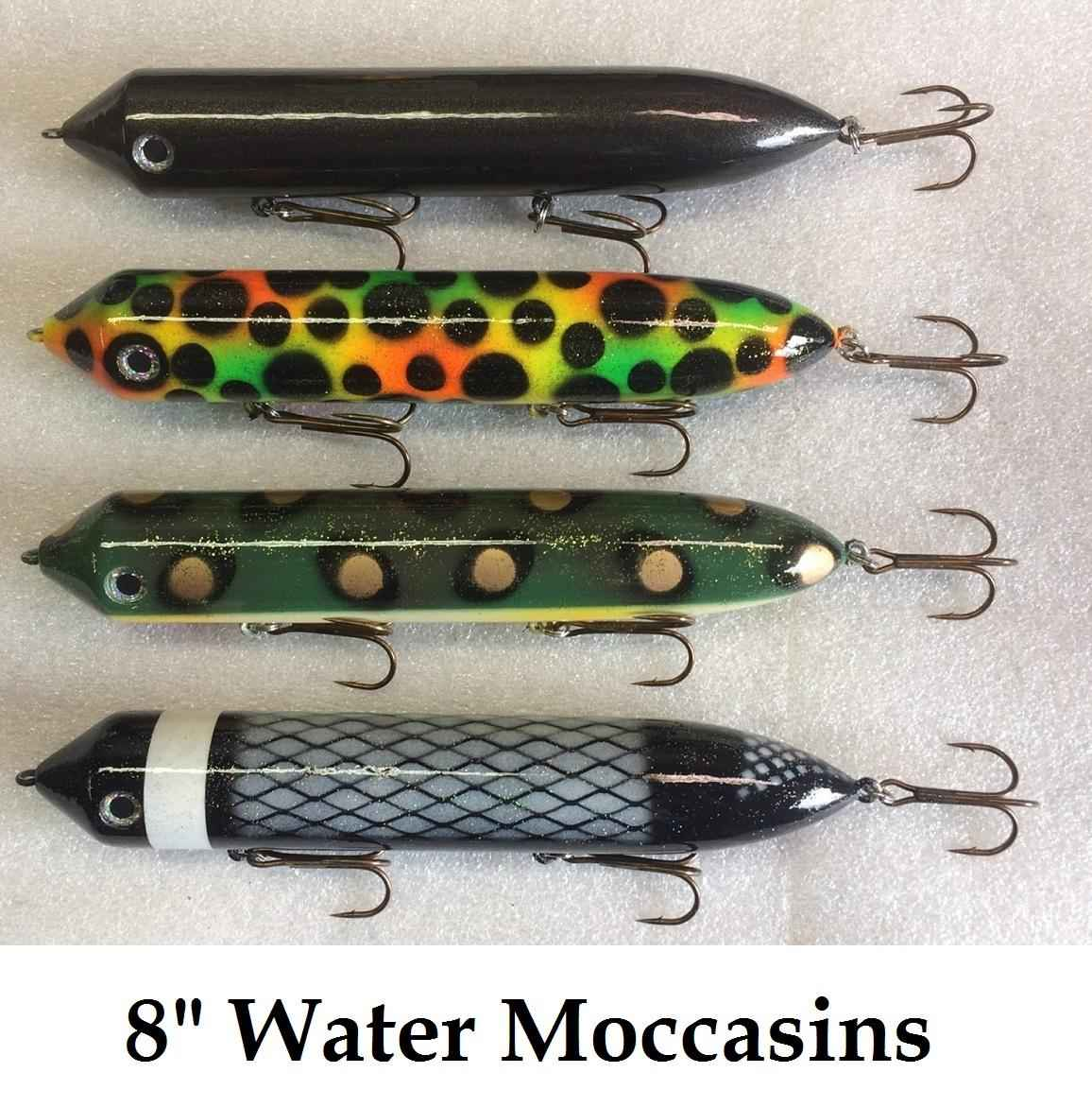 Water Moccasins 8""