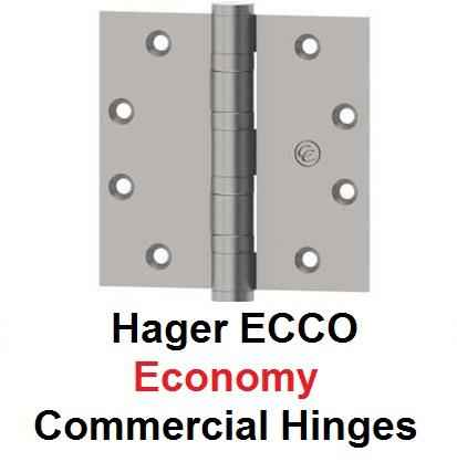 Hager ECCO Economy Commercial Hinges