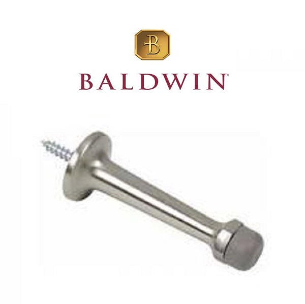 "Baldwin 4045 3"" Solid Brass Door Stop"