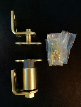 Bommer 7512 Non-Hold Open Louver Door Steel Gravity Pivot Saloon Door Hinges