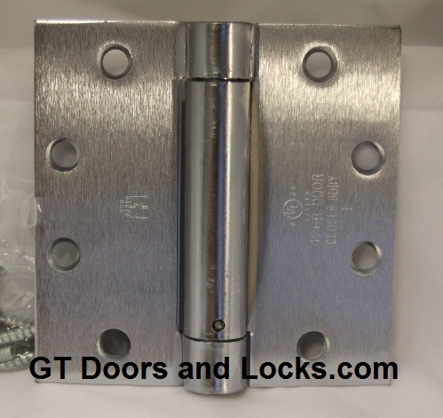 Hager Stainless Steel Self Closing Hinges 1150 & 1760
