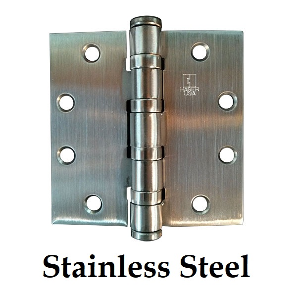 Stainless Steel Hinges and Hardware
