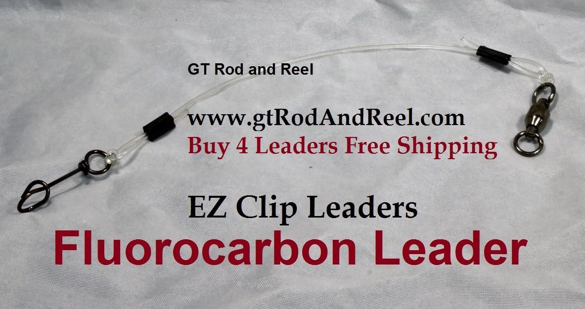 75 LB EZ Clip Fluorocarbon Leader