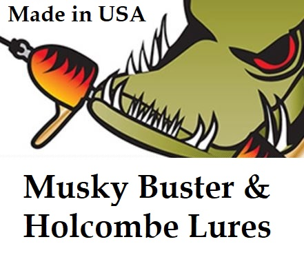 Holcombe-Musky Buster Lures