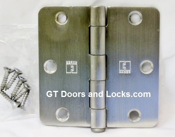Hager RC1541 Stainless Steel Hinges
