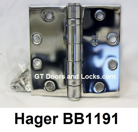 Hager Hinge BB1191 Full Mortise Hinge