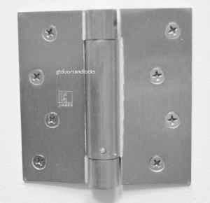 "Hager Hinges 1750 Square Corner 4"" x 4"" Spring Loaded Self Closing Hinge-------------------------------- R7189 & 426R --- R 7189 & 426 R Door Closer Body"