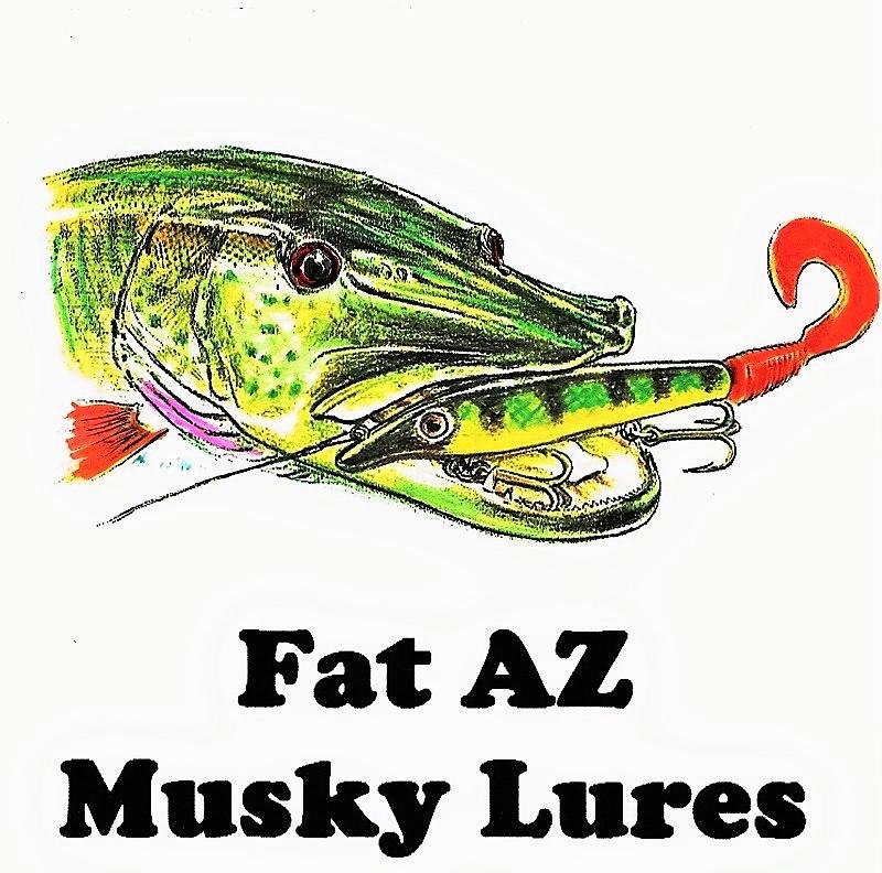 Fat AZ Musky Lures