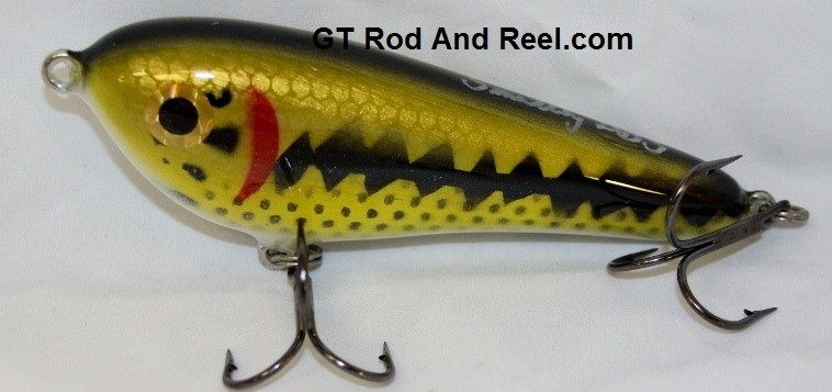 """Smuttly Dog Baits Lures 5"""" Drop Belly, Color; Large Mouth Bass"""