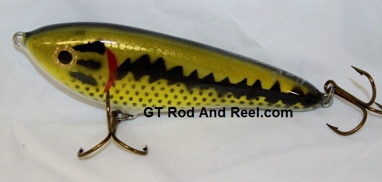 """Smuttly Dog Baits Lures 6"""" Drop Belly, Color; Large Mouth Bass"""