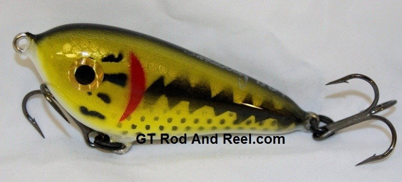 "Smuttly Dog Baits Lures 4"" Drop Belly, Color; Large Mouth Bass"