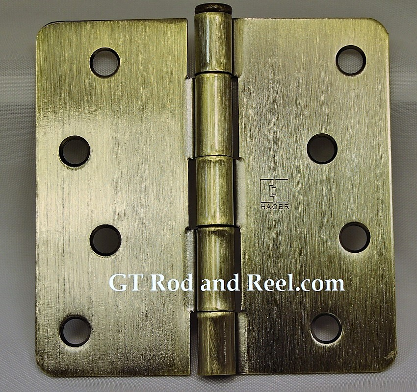 """Hager Hinges RC1741 4"""" x 4"""" Antique Brass"""