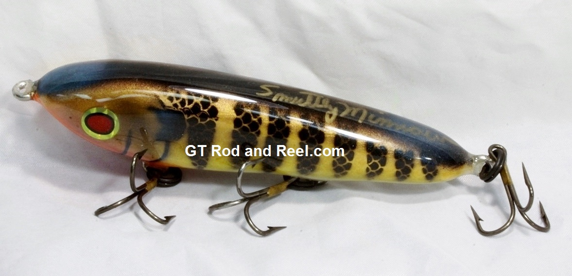 """Smuttly Dog Baits Lures 5"""" Minnow, Color; Blue Gill"""