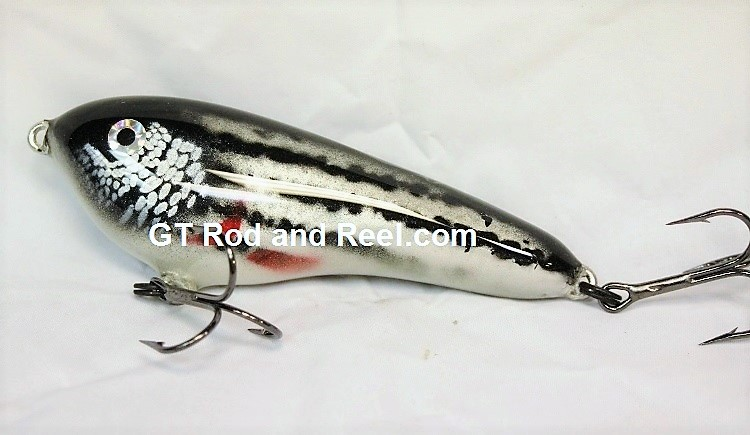 """Smuttly Dog Baits Lures 5"""" Drop Belly, Color;  Striper"""