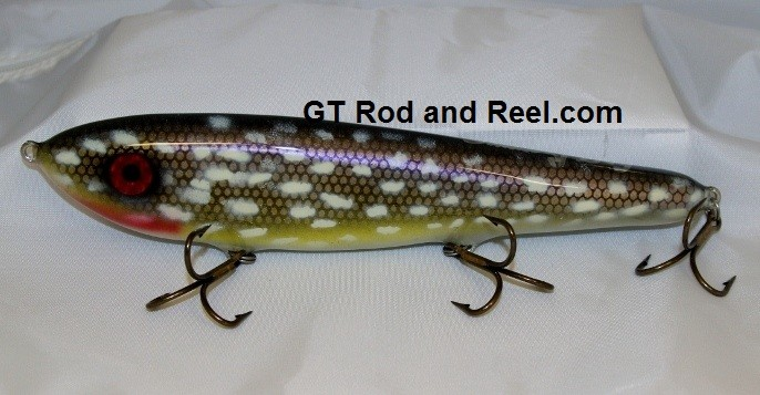 """Smuttly Dog Baits Lures 10"""" Drop Belly 10DB Musky Glide Bait  Color: Northern"""
