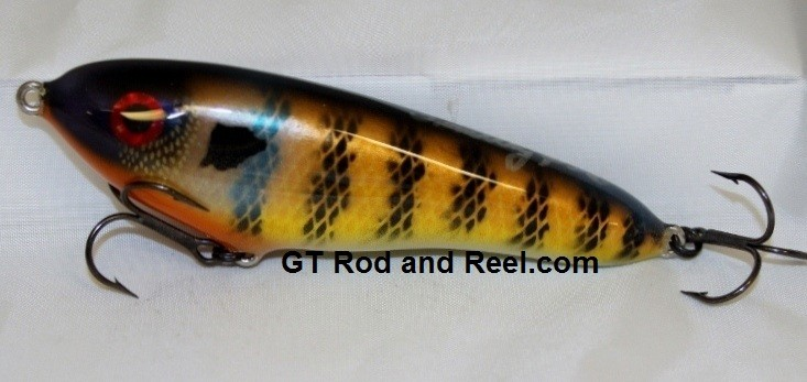 """Smuttly Dog Baits Lures Petite 6"""",  Color; Blue Gill"""