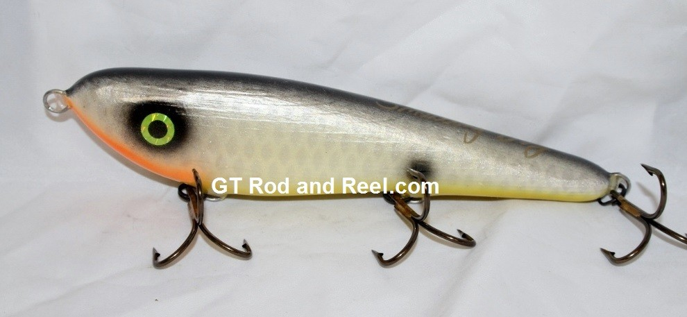 "Smuttly Dog Baits Lures 8"" Drop Belly 8DB Musky Glide Bait  Color: Minnesota Lake Shad"