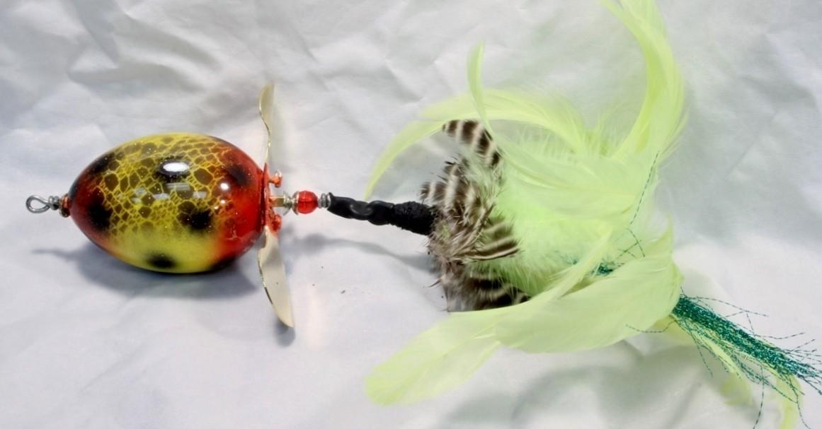 Nimmer Swimmer Egg Beater Yellow Frog