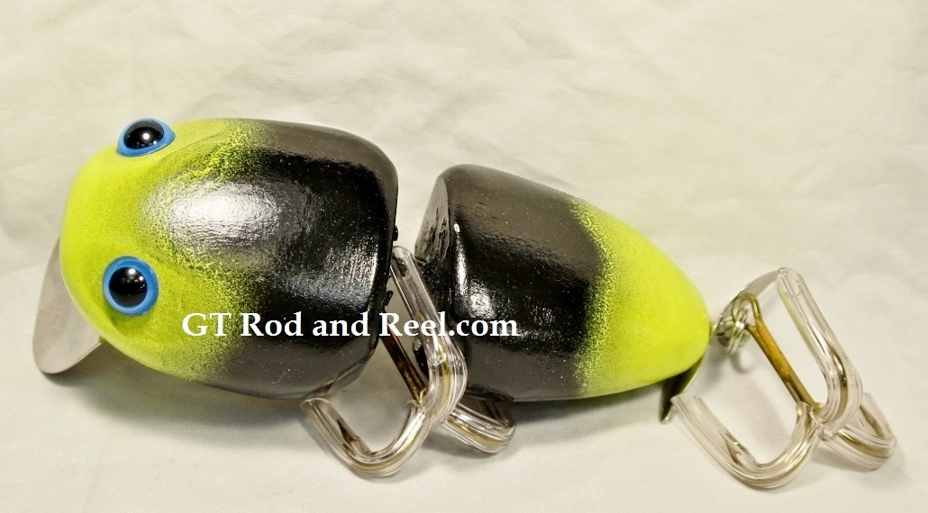"Nimmer Swimmer 5"" Wolly Pog Yellow Head Midnight"