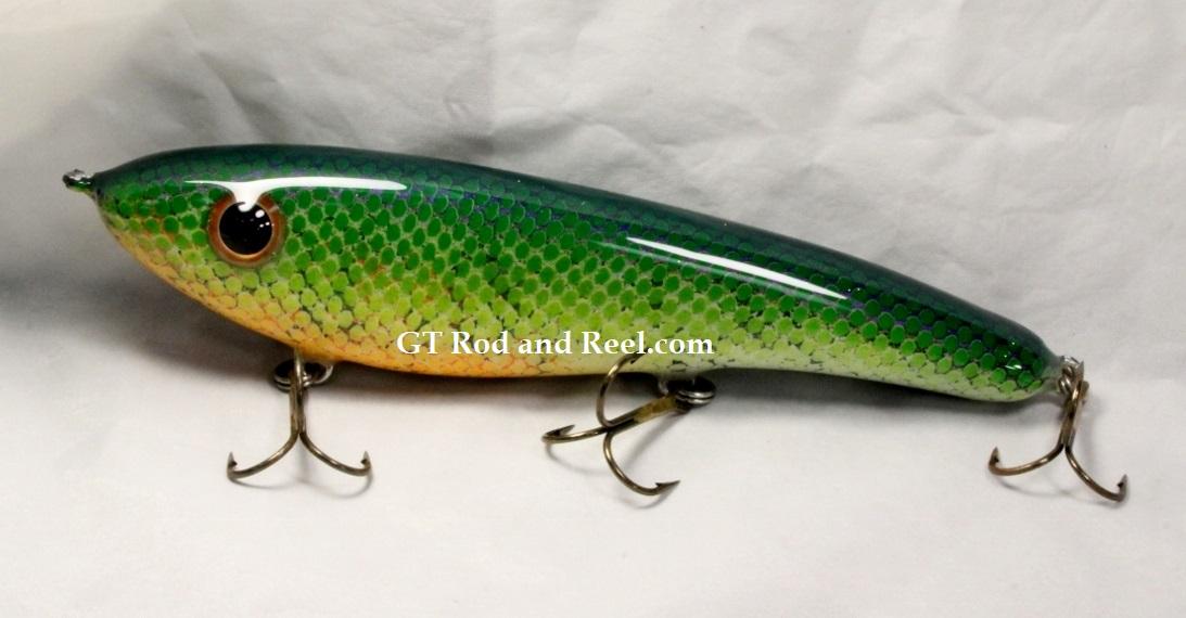 "Pearson Plug 8"" Trophy Hunter Color, Grass Carp"