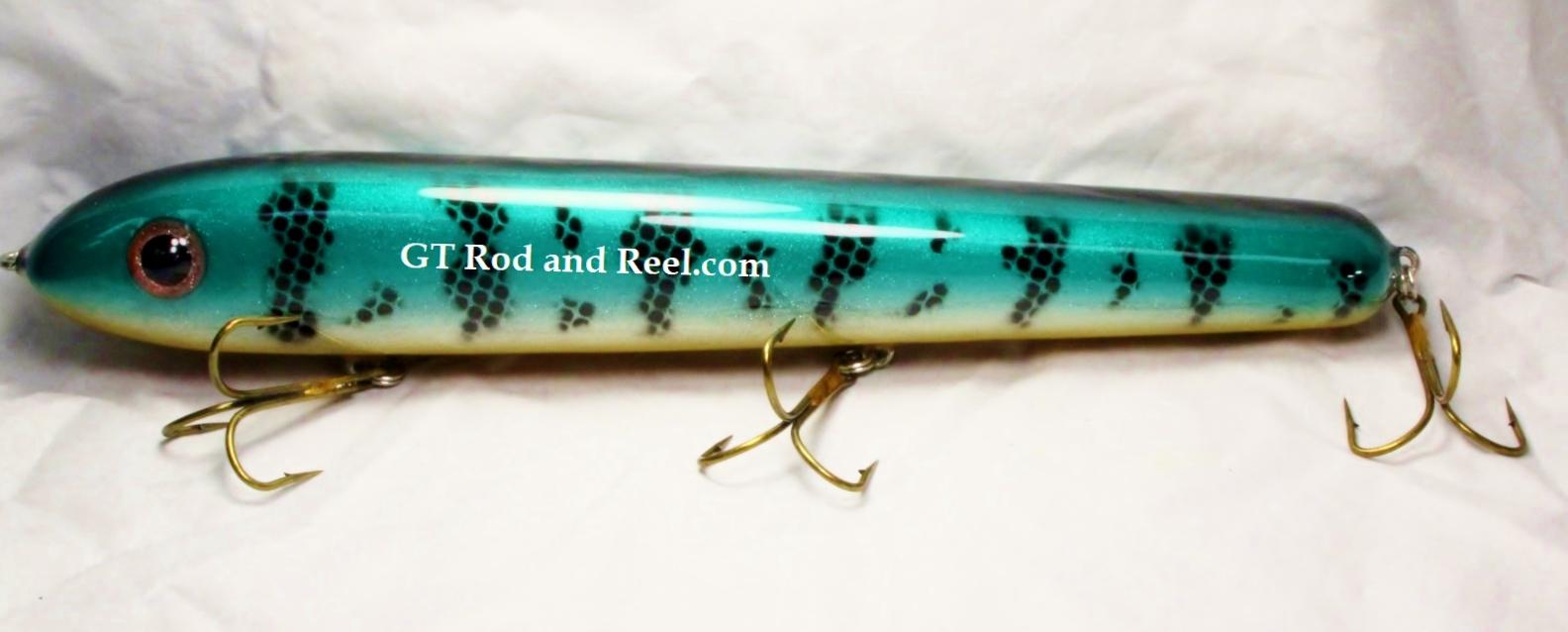 """Pearson Plug 12"""" Wide Glide Color Emerald Smallie"""