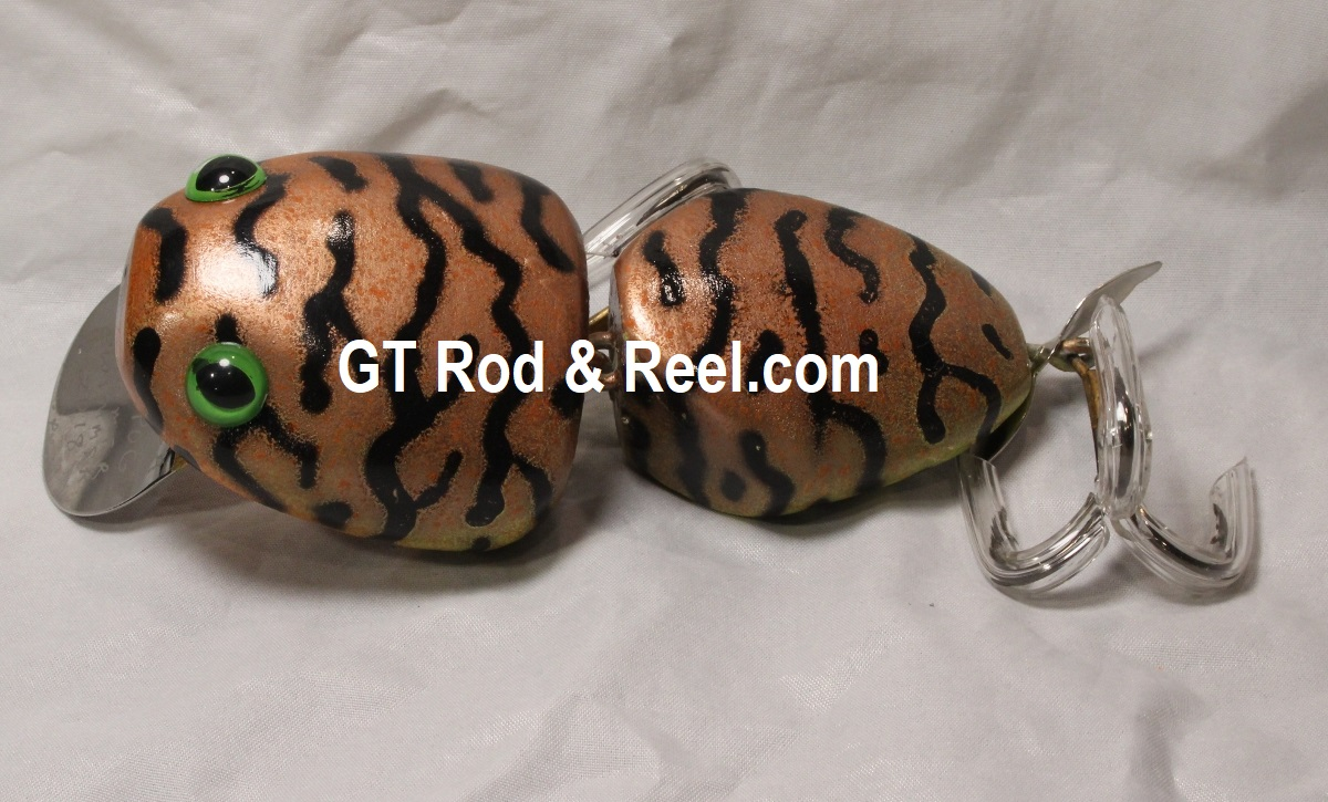 "Nimmer Swimmer 5"" Wolly Pog Copper Tiger"