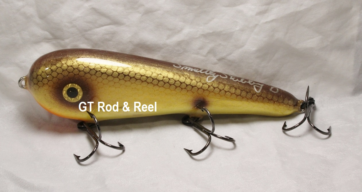 "Smuttly Dog Baits Lures 7"" Stubby D, Color; Yellow Bullhead"