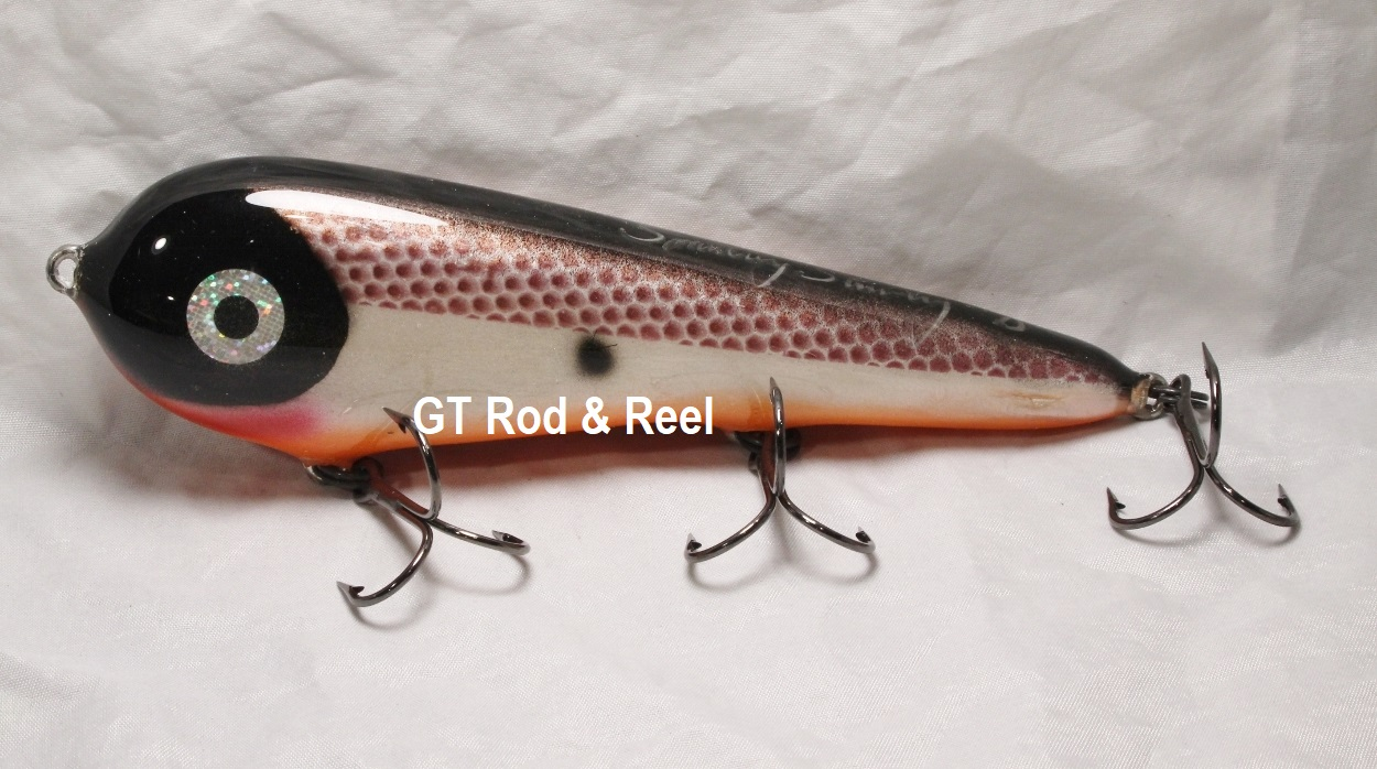 """Smuttly Dog Baits Lures 7"""" Stubby D, Color; Tennessee  Shad"""
