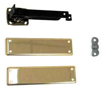 Bommer 7813 HD 632 Double Acting Floor Hinge Heavy Duty Up To 150 LBS US3 Polished Brass