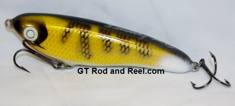 """Smuttly Dog Baits Lures Petite 6"""",  Color; Walleye"""