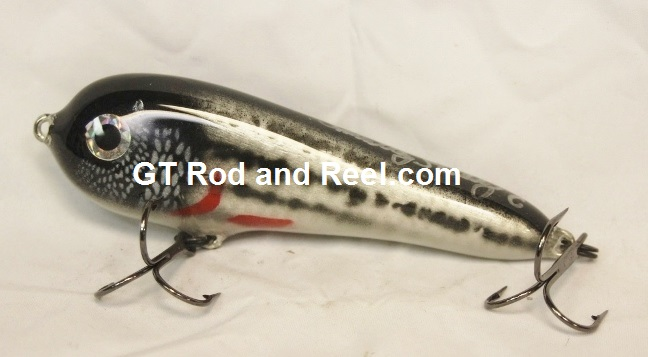 """Smuttly Dog Baits Lures 5"""" Stubby C, Color; Striper"""