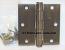 "Hager 1279 Hinge 1 Each 3-1/2"" x 3-1/2"" Square Corner US10B Oil Rubbed Bronze"