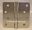 "Hager Hinges RC1741 4"" x 4"" Satin Nickel"