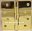 "Hager Hinges RC1741 4"" x 4"" Bright Brass"