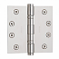 "Baldwin Hinges 1046 Ball Bearing 4.5"" x 4.5"" Lifetime Polished Nickel"