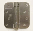 "Hager Hinges 1752 5/8"" Radius US15 Satin Nickel 4"" x 4"" 426r r7189 Self Closing Hinge"