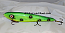 "Smuttly Dog Baits Lures 12"" Big ""N""  Musky Glide Bait  Color: Green Frog"
