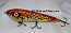 "Smuttly Dog Baits Lures 8"" Drop Belly 8DB Musky Glide Bait  Color: Orange Crappie"