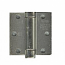 Hager Hinges 1250 Square Corner US26d Brushed Chrome 3.5 x 3.5 Self Closing Hinge