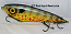 "Smuttly Dog Baits Lures 7"" Drop Belly, Color; Pumpkinseed Sunfish"