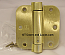 "Hager Hinges 1752 5/8"" Radius US4 Satin Brass 3.5"" x 3.5"" r7189 426r Self Closing Hinge"