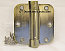 "Hager Hinges 1752 5/8"" Radius US5 Antique Brass 3.5"" x 3.5"" r7189 426r Self Closing Hinge"