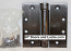 Hager Hinges 1250 Square Corner US10b Oil Rubbed Bronze 4.5 x 4.5 Self Closing Hinge