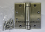 Hager Hinges 1250 Square Corner US15 Satin Nickel 4.5 x 4.5 Self Closing Hinge
