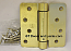 "Hager Hinges 1751 1/4"" Radius US4 Satin Brass 4"" x 4"" 426r r7189 Self Closing Hinge"