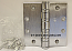 "Hager Hinge BB1168 Full Mortise Hinge 4 1/2"" x 4 1/2"" US26d Satin Chrome"