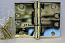 """Hager WT1279 Hinge 1 Each 4"""" x 5"""" Square Corner US3 Polished Brass Hager Wide Throw Hinges"""