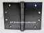 "Hager WT1279 Hinge 1 Each 4-1/2"" x 6"" Square Corner US10D Black Bronze Oiled Hager Wide Throw Hinges"