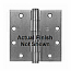 "Hager Hinges 1279 NRP 4.5"" x 4.5"" US15 Satin Nickel"